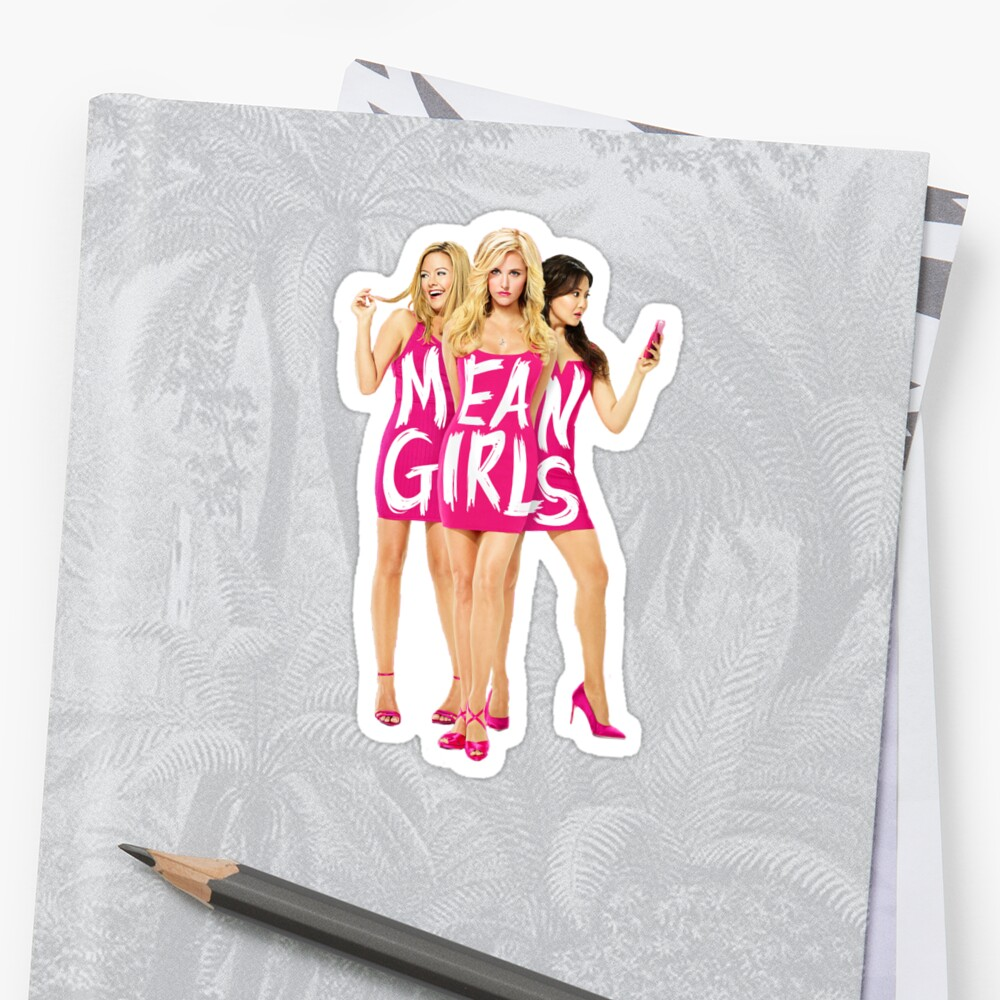 Mean Girls the Musical Pegatinas