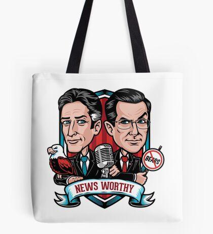 News Worthy Tote Bag