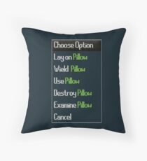 RuneScape-Choose Option Throw Pillow