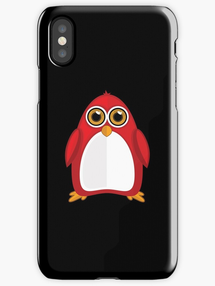 Red Penguin 2 by Adam Santana