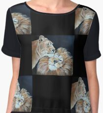 The king and I  Women's Chiffon Top