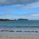 Strand-Szene von BlueMoonRose