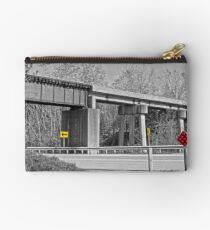 Railroad Overpass Studio Pouch