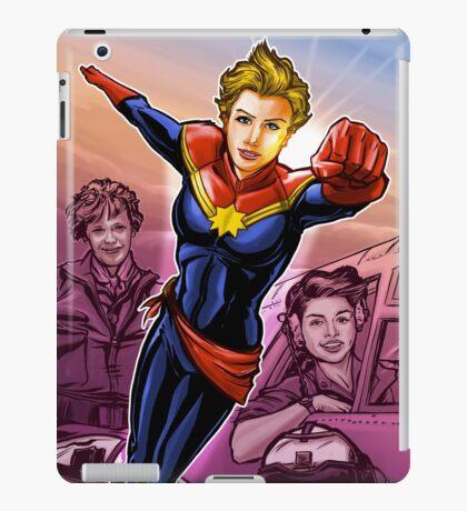Strong Female Super Hero iPad Case/Skin