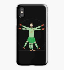 david de gea - I like the man in the yellow jacket as the guide iPhone Case/Skin