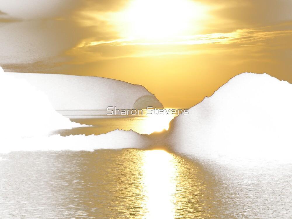 Golden Ice by Sharon Stevens