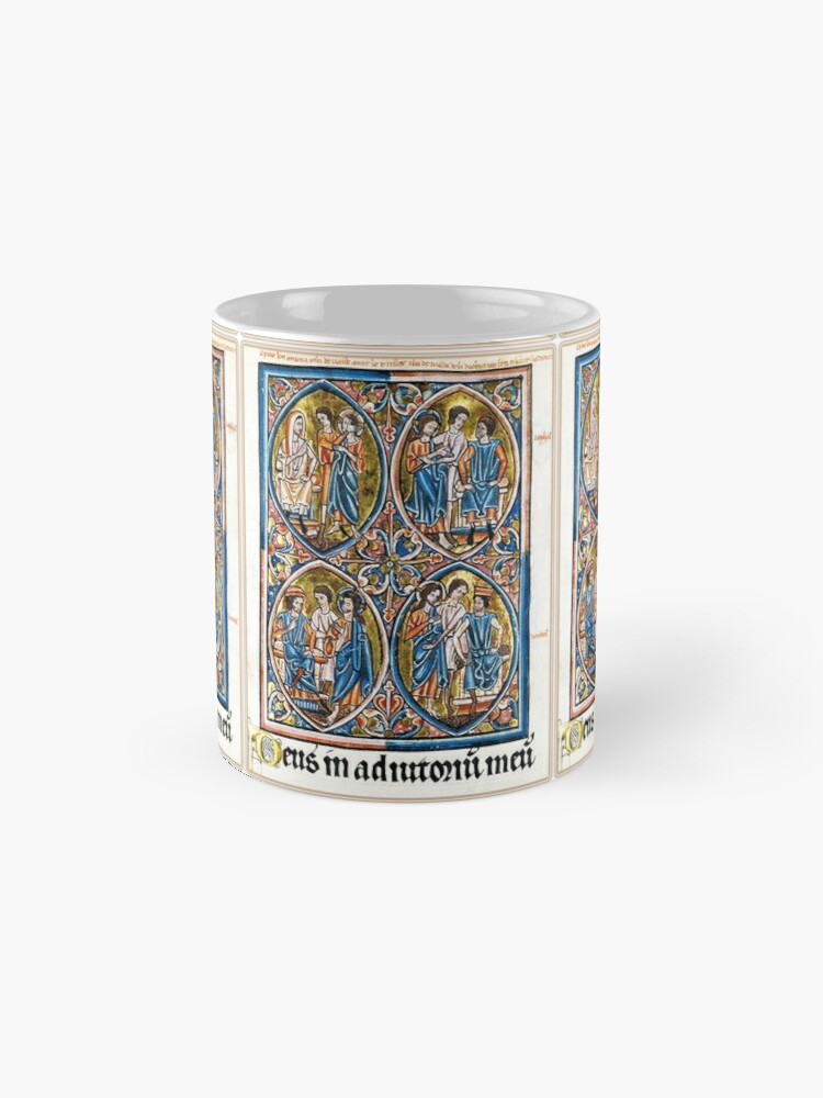 Alternate view of Illuminated New Testaments Christ Judged Mugs