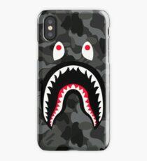 Bape shark Black Army iPhone Case/Skin