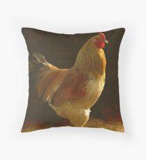 Golden Roo Throw Pillow