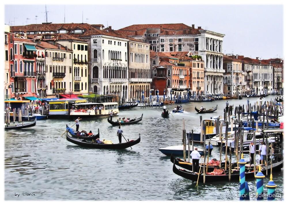 Canal Grande by Lior Goldenberg