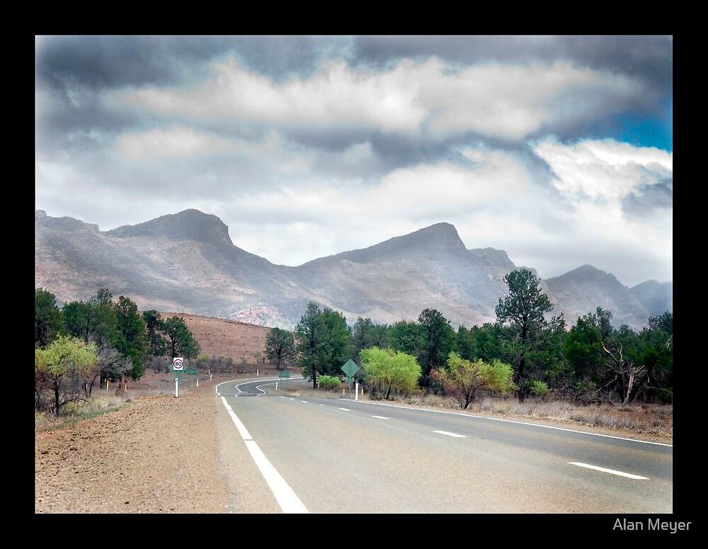 Moralana Drive Flinders Ranges, South Australia by Alan Meyer