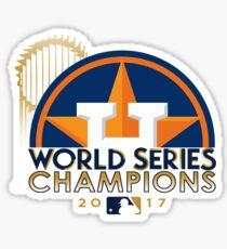 Houston Astros World Champs 2017 Sticker