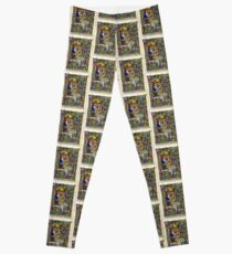 Illuminated New Testaments Adoration of Baby Jesus Leggings