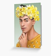 henry cheng Greeting Card
