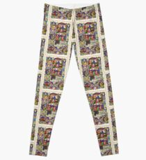 Illuminated New Testaments Assumption of Virgin Mary Leggings