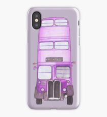 Big Purple Bus iPhone Case/Skin