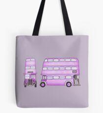 Big Purple Bus Tote Bag