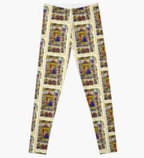 Illuminated New Testaments Virgin Mary Annunciation Leggings
