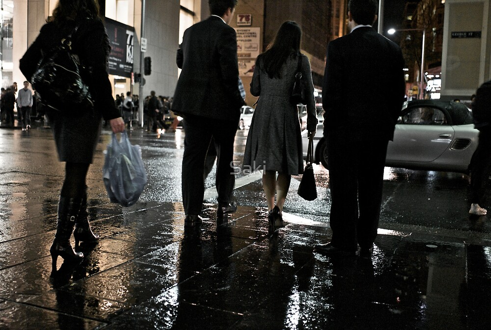 Urban Rain IV by Saki