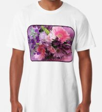 A Passion for Pink and Purple Long T-Shirt