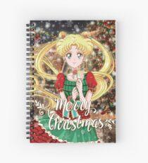 Merry Xmas Usagi! Spiral Notebook