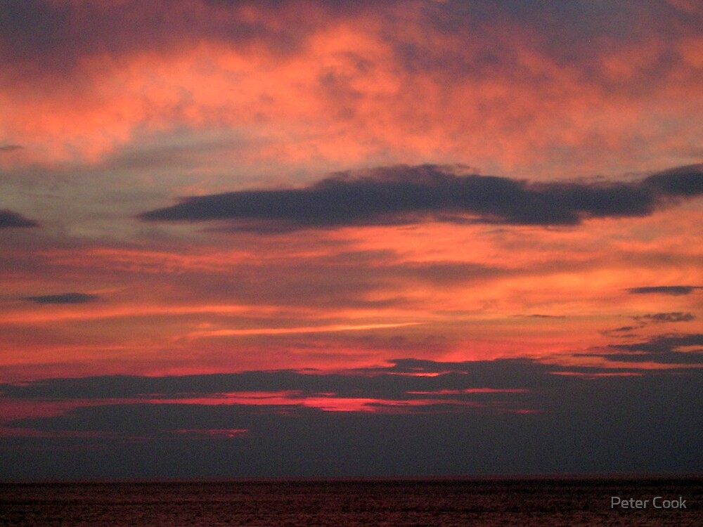 sunset by Peter Cook