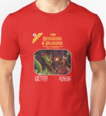 Dungeons and Dragons Basic Rulebook (Remastered) Unisex T-Shirt