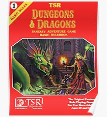 Dungeons and Dragons Basic Rulebook (Remastered) Poster