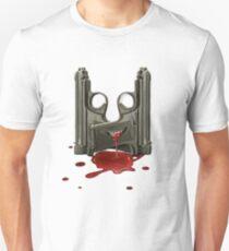BLOODY GUNS Unisex T-Shirt