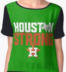 Houston Strong Women's Chiffon Top