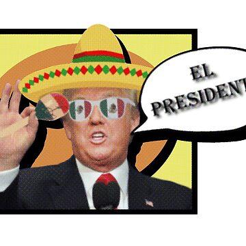 El  Presidente¡ (Senior Trump) by Jakaru