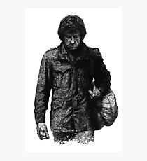 rambo - first blood film  action soldier Photographic Print