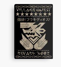 Village Quest - Brachydios Metal Print