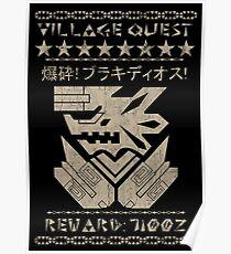 Village Quest - Brachydios Poster