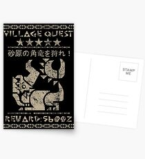 Village Quest - Diablos Postcards