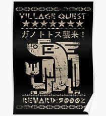 Village Quest - Plesioth Poster