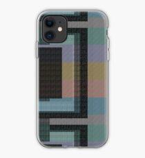 subliminal state, glitch me pattern iPhone Case