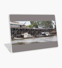 Historic inland port of Echuca, Australia Laptop Skin