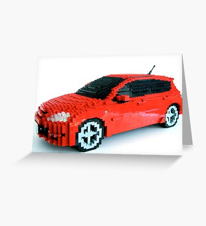Mazdaspeed3 Greeting Card