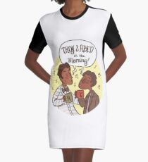 troy and abed in the morning Graphic T-Shirt Dress