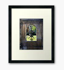 Through Your Window Framed Print
