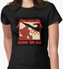 Gank 'em all Women's Fitted T-Shirt