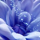 Stunning Blue  Purple Beauty With Stars by hurmerinta