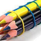 Pencils III by bubblebat
