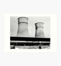 Cooling Towers / Viaduct / Boy Art Print