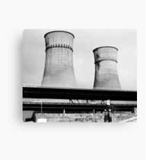Cooling Towers / Viaduct / Boy Canvas Print