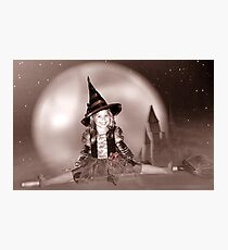 Witch's Night Out 2 Photographic Print