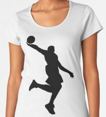 Basketball Dunk Women's Premium T-Shirt