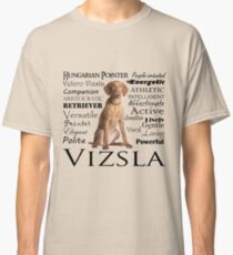 Vizsla Traits Classic T-Shirt
