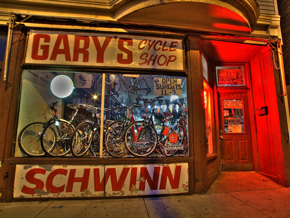 Gary's Cycle Shop by Marc Sullivan